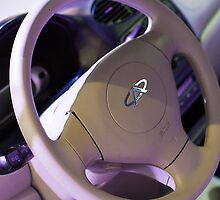 Chery QQ Electric Steering Wheel II [ Print & iPad / iPod / iPhone Case ] by Mauricio Santana