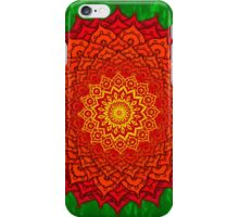 okshirahm rose mandala iPhone Case/Skin