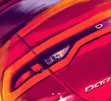 Dodge Dart tryptich No.1 by Rafi Adrian Z
