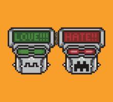 Love-Hate Bot (Horizontal) by JoesGiantRobots