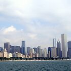 Chicago backdrop by John Maxwell