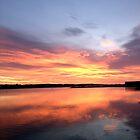 Cruden Bay Aberdeenshire Fire Water by John Maxwell