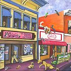 Manitou Colorado~Dog Invasion by shinerdog