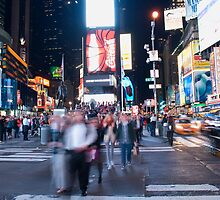 TIME SQUARE by Alain Robillard