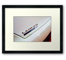 Mitsubishi Lancer Evolution X Detail [ Print & iPad / iPod / iPhone Case ] Framed Print