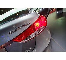 Hyundai Elantra Back Red Light [ Print & iPad / iPod / iPhone Case ] Photographic Print