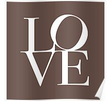 Love in Chocolate Poster