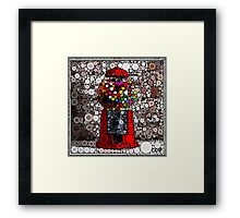 Bubble Gum Goodness! Framed Print