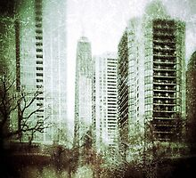 Vintage City View by kalikristine