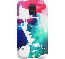 rainbow glasses profile Samsung Galaxy Case/Skin