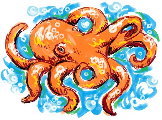 octopus by Xtianna