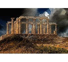 Temple of Poseidon Photographic Print