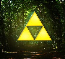 the legend of zelda triforce by zapatrapa