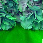 Hydrangeas Faux-1 by Tamarra