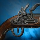 ancient flintlock pistol by PhotoStock-Isra