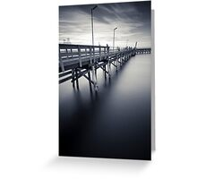 Moonta Bay II Greeting Card