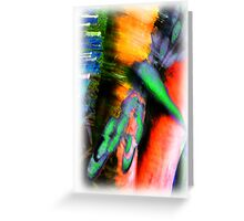 Psychedelic Dragonfly  Greeting Card