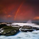 Point Cartwright Rainbow Sunset by Kate Wall