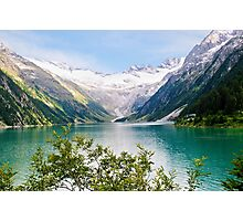 Austria, Zillertal High Alpine nature Park landscape  Photographic Print