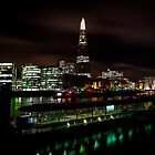 London, The Shard over Thames by Lee Rolfe