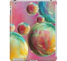 Tropical Feather Bubble Abstract iPad Case/Skin