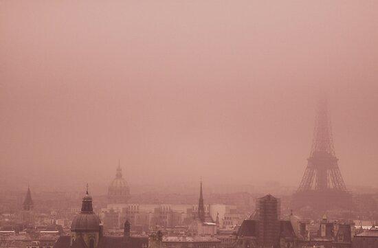 A foggy day by Anne Staub