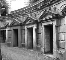 Highgate cemetery by Karen Hood
