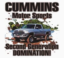 Cummins Motor Sports by Truck Tee's
