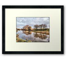Skippool Creek. Framed Print