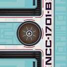 Star Trek - NCC-1701-B Hull iPhone Case by Jon Kolton