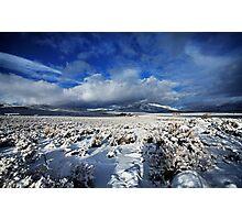 High Desert Snows Photographic Print
