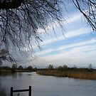The Waveney in winter by KatDoodling