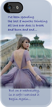 Taylor Swift Begin Again by gleviosa