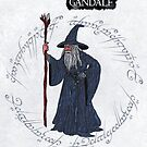 Gandalf card by ChrisNeal