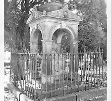 Tomb, Buxton by Robert Steadman