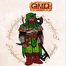 Gimli Card by ChrisNeal