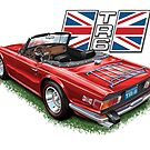 Triumph TR-6 in Red by davidkyte