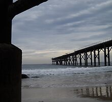 Under the jetty - Catherine Hill Bay by DashTravels