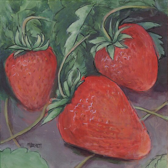 Strawberry Fields by Michael Beckett