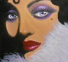 A MYSTERIOUS AND ELEGANT LADY by Dian Bernardo