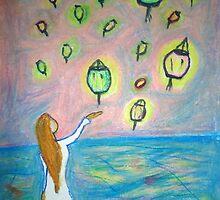 Lanterns by Alison Pearce