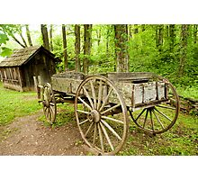 Historic wagon  Photographic Print
