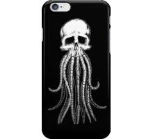 Skull octopus/davy jones iPhone Case/Skin