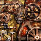 Steampunk - Gears - Inner Workings by Mike  Savad