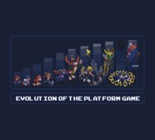 Evolution of the Platform Game Kids Clothes