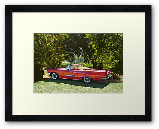1958 Ford Thunderbird Convertible II by DaveKoontz