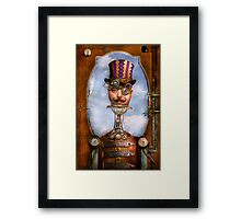 Steampunk - Integrated Framed Print