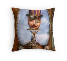 Steampunk - Integrated Throw Pillow