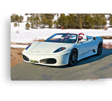 Ferrari F430 Spider II Canvas Print