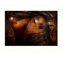Steampunk - Plumbing - The home of a stoker  Art Print